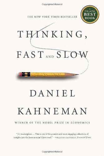 Thinking Fast and Slow Book cover