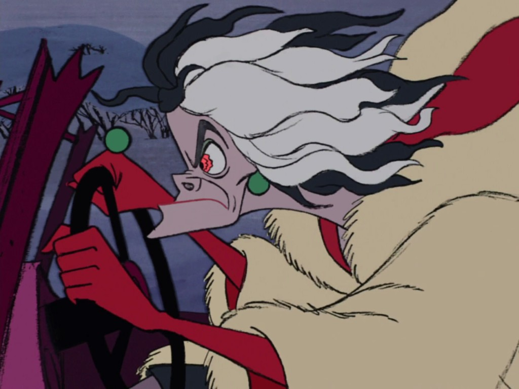 Cruella De Vil Crazy in Car