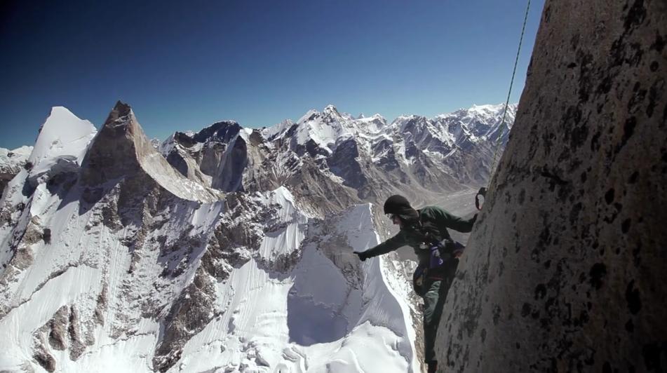 Meru Mountain Rock Climb