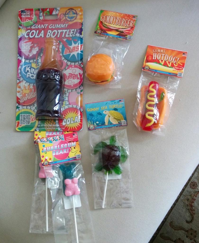 giant gummy haul