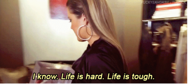 Khloe makes fun of Kim for complaining