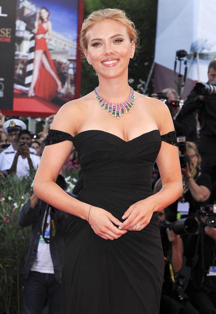 Scarlett Johansson Venice Versace Under the Skin