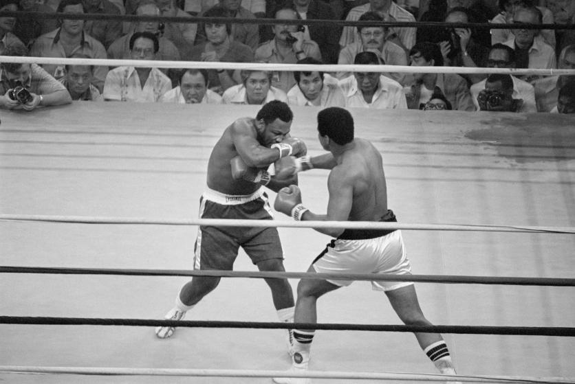 Ali Frazier Thrilla in Manila