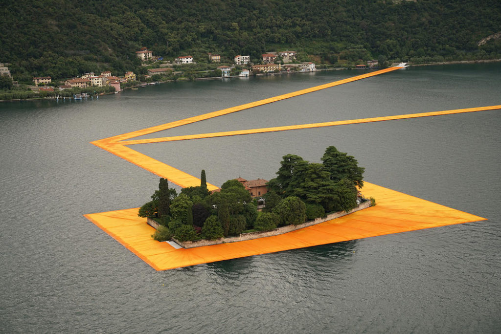 Floating Piers Christo