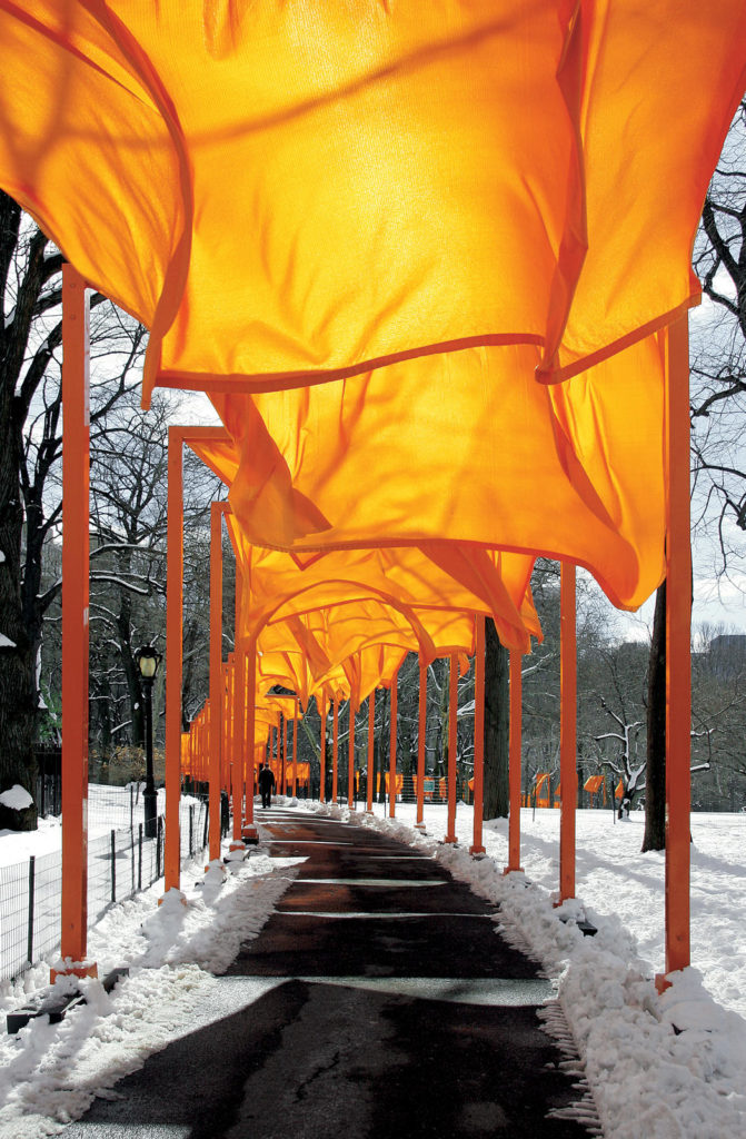 The Gates, Christo and Jeanne-Claude