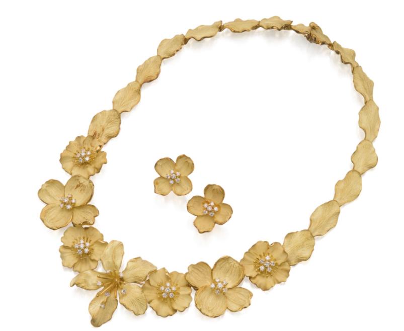 Tiffany Dogwood Necklace, Sotheby's