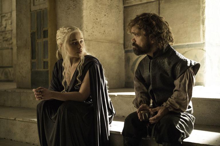 targaryen lannister dany tyrion conversing game of thrones