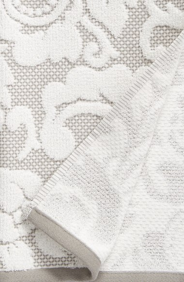 floral towel woven bath