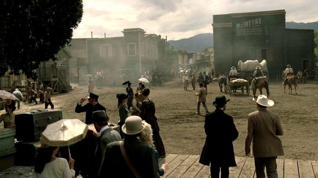westworld hbo old west scene